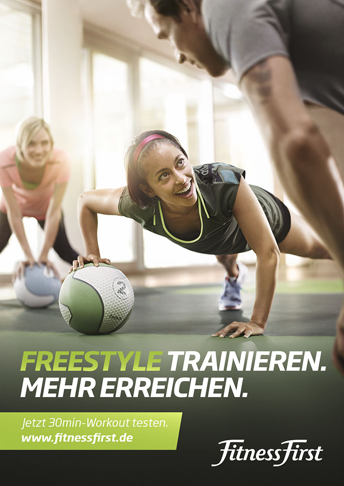 Fitness First Campaign 01
