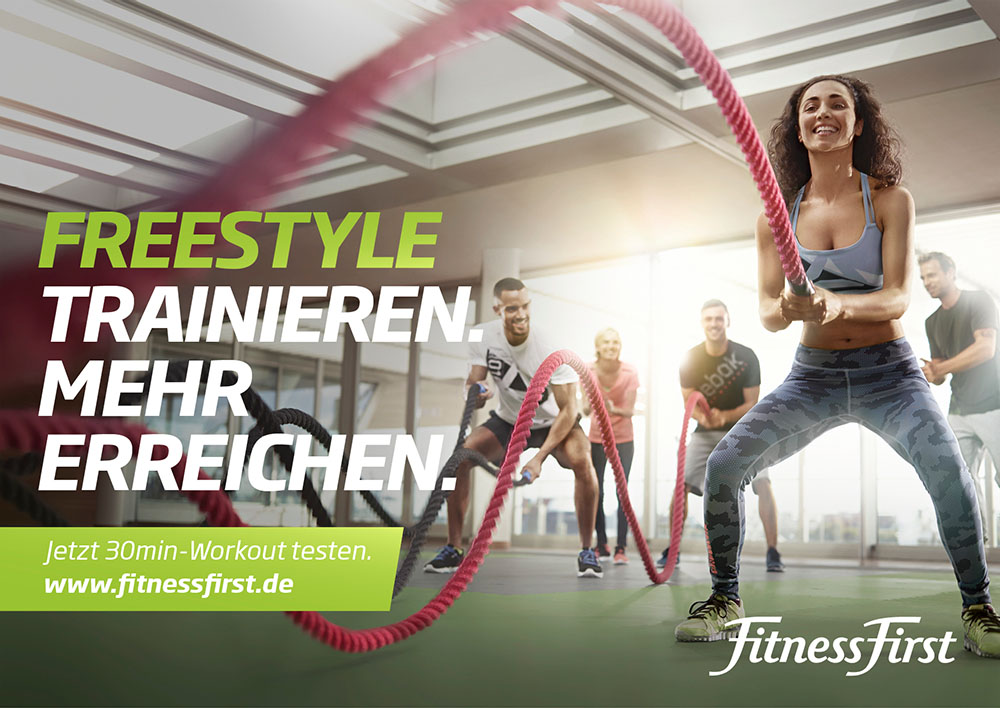 Fitness First Campaign 03