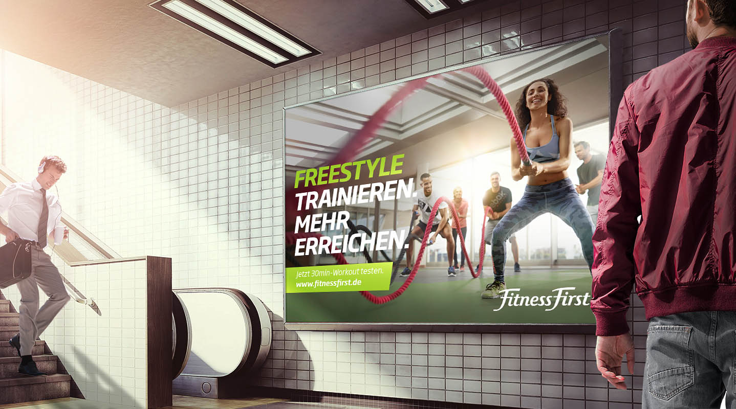 Fitness First Campaign Header