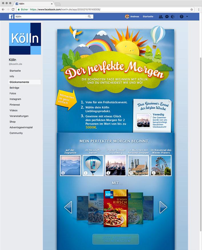 Koelln Campaign Facebook