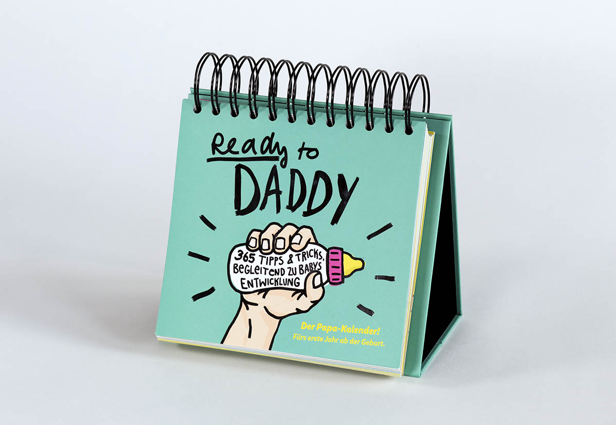 Ready to Daddy Calendar Pages